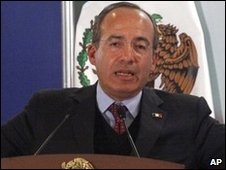 President Calderon: Two visits to Juarez in under a week